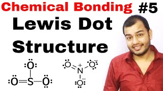 11 Chap 4 || Chemical Bonding  05 || Lewis Dot Structure || How to draw Lewis Dot Structure Of ||