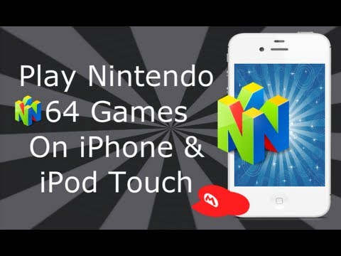 Nintendo 64 Emulator On iPhone 4S. 4. 3GS & iPod Touch