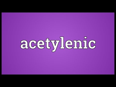 Header of acetylenic