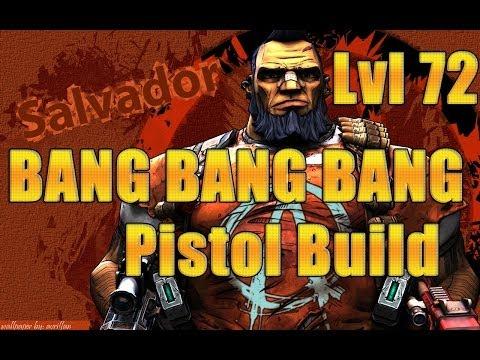 Borderlands 2- Level 72 Gunzerker Pistol Build *BANG BANG BANG*