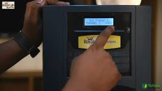 Royal Cafe:How to set up Royal GR-17 coffee vending machine?