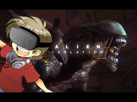 Alien Isolation   Oculus RIFT + Manette!