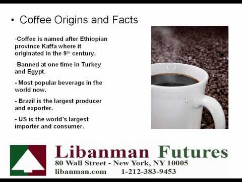 Coffee Futures and Options Trading