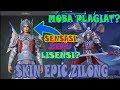 NEW SKIN EPIC ZILONG PLAGIAT GAME DYNASTY WARRIORS?!MOBILE LEGENDS
