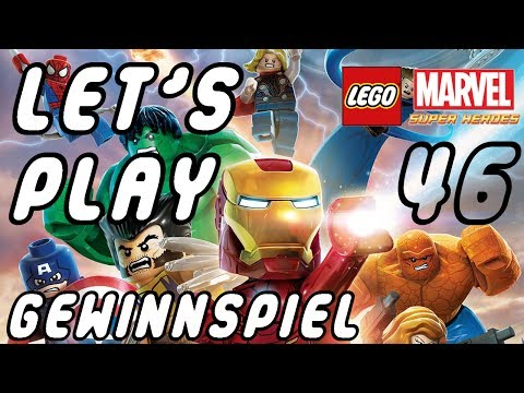 Let's Play Lego Marvel Super Heroes Part 46 Level #2 Gerangel am Times Square 10 Minkits + Stan Lee