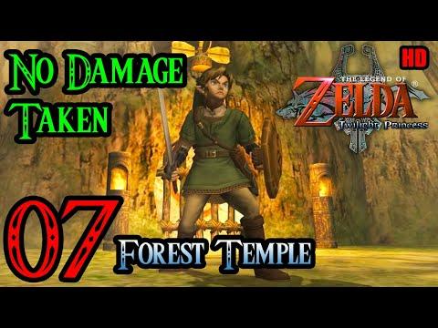 Zelda Twilight Princess Wii 100% Walkthrough 1080p HD Part 7 - Forest Temple