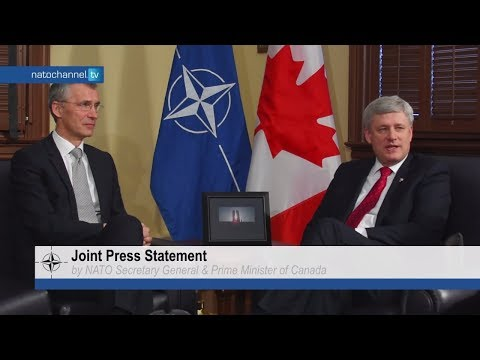 NATO Secretary General and Prime Minister of Canada - Joint Press Statement, 23 MAR 2015