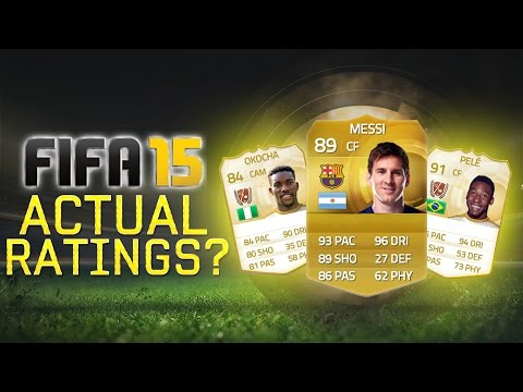 Actual Ratings? 91 Pele, 89 Messi?! - Fifa 15 video