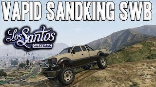 [GTA V - Los Santos Customs] Améliorations & Run avec la Vapid Sandking SWD !
