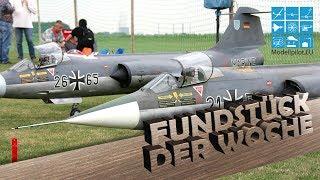 F-104 STARFIGHTER 1:4 (2006) - FUNDSTÜCK DER WOCHE | RC TURBINE JET HEIKO HÖFT & WOLFGANG WEBER