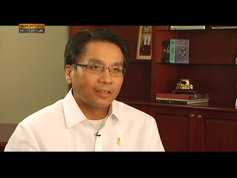 Reporter's Notebook: One-on-one interview with Mar Roxas