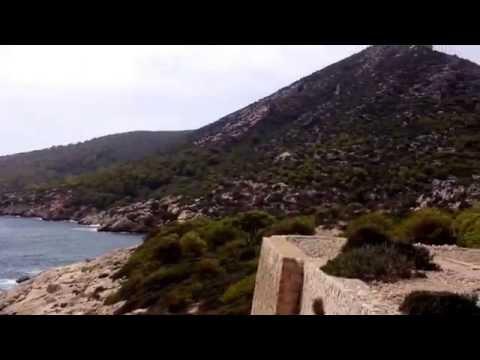 View from Dragonera island Majorca