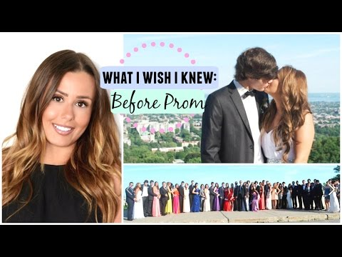 �What I Wish I Knew for my Prom: Prom Advice! �