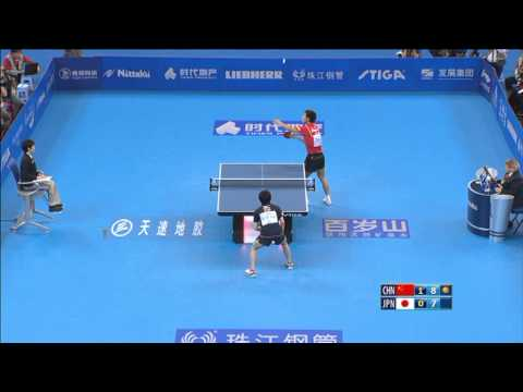 World Team Classic Highlights: Zhang Jike-Koki Niwa