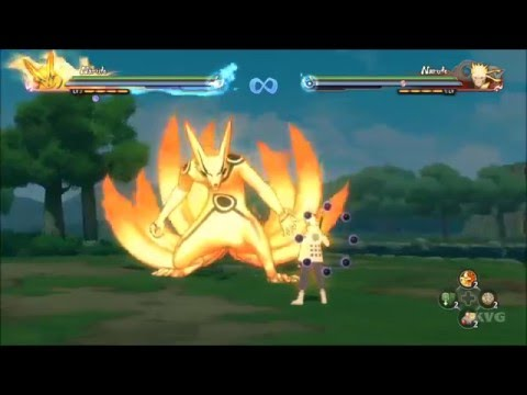 Naruto Shippuden: Ultimate Ninja Storm 4 - All Nine Tails Naruto's Transformations (HD) [1080p60FPS]