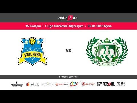 Stal Nysa - AZS Częstochowa, 1 Liga Siatkówki Mężczyzn // 6.01.2018 R.