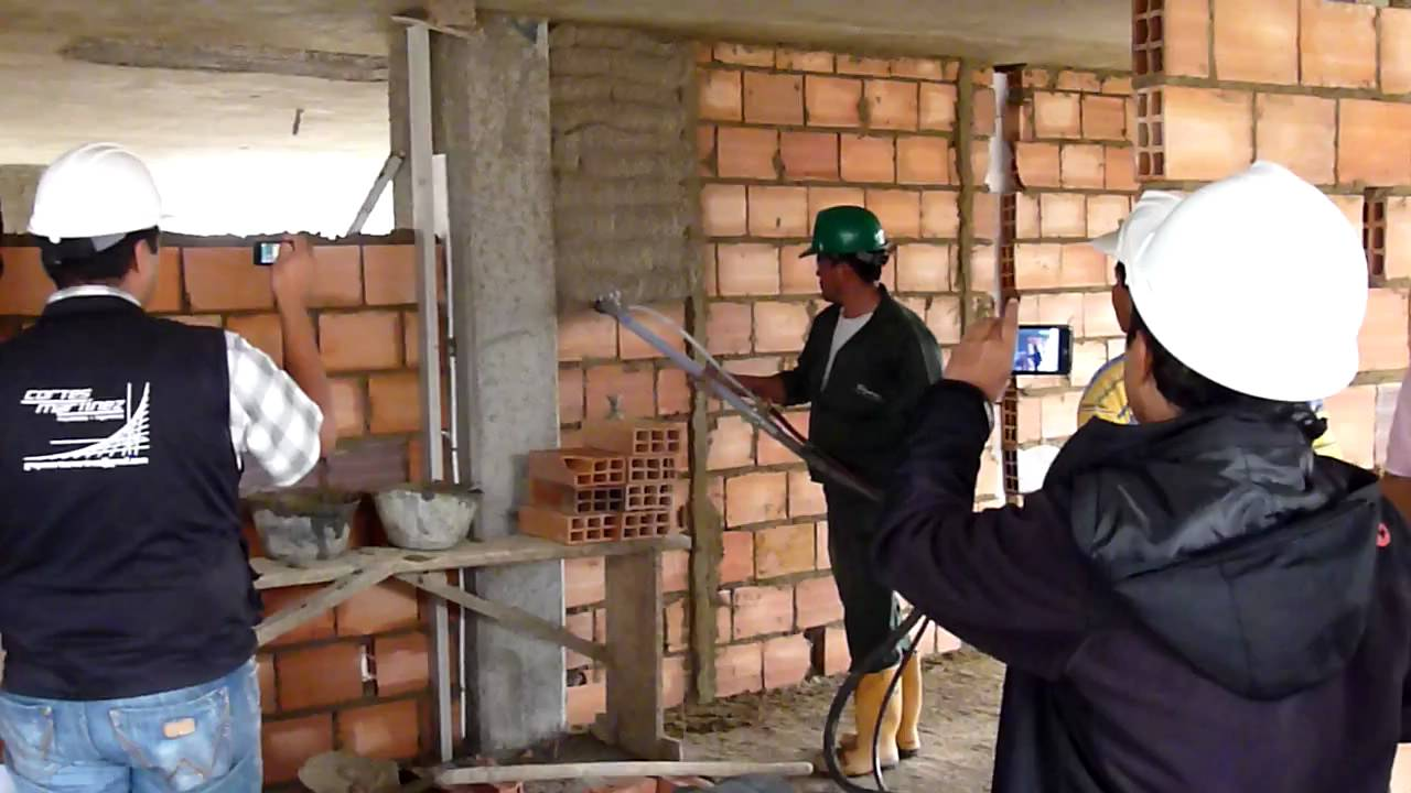 Lanzado de mortero cemento arena hecho en obra en bogot for Mortero de cemento