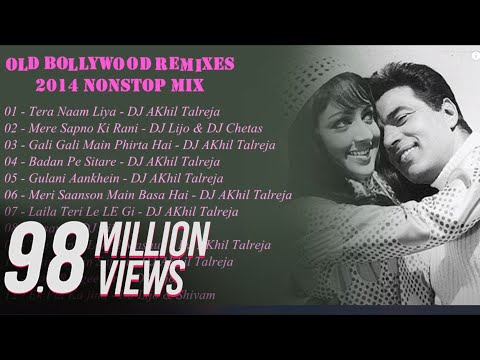 2014 Top Best Bollywood OldSkool RemixesMashups Nonstop Mix