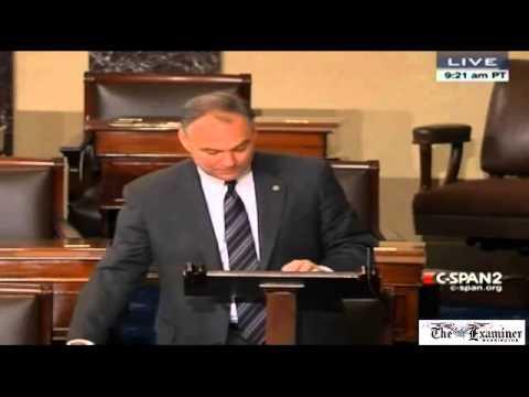 Sen. Tim Kaine delivers floor speech in favor of immigration reform in Spanish