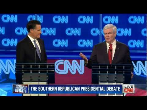 CNN/SRLC - The Southern Republican Presidential Debate in Charleston, SC (January 19, 2012) 720p