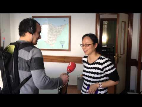 Estudiantes de Shanghai (China) en clases de ESO-2