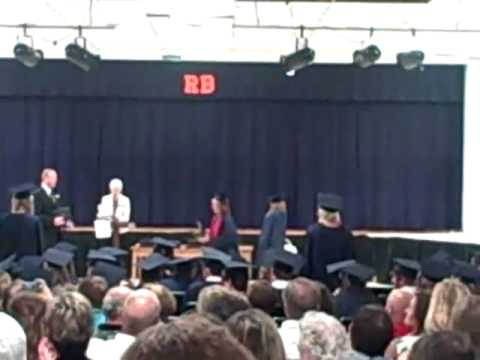 Micala Dulaney receives diploma from Red Bay High School