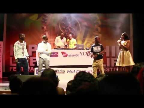 Azonto Competition  The Hiplife Festival In London! Hosted By Dj Abrantee video