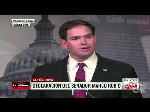 Marco Rubio promete bloquear la votación de un embajador en Cuba