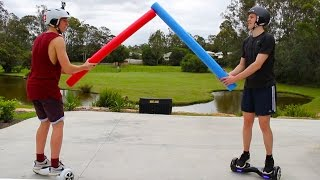Hoverboard Swegway War CHALLENGE Brother VS Brother
