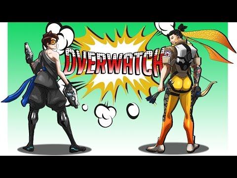 Overwatch | Монтаж ● ФЕЙЛЫ И ПРИКОЛЫ ОВЕРВОТЧА ● Смешные моменты ● SFM