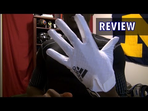 Adizero 5-Star 3.0 Football Gloves Review - Ep. 155