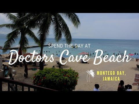 Doctors Cave Beach. Montego Bay. Jamaica