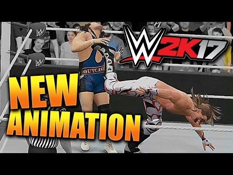WWE 2K17 - NEW SWEET CHIN MUSIC ANIMATION!