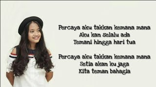 Download Lagu Teman Bahagia - Jaz (Cover) Hanin Dhiya LIRIK Gratis STAFABAND