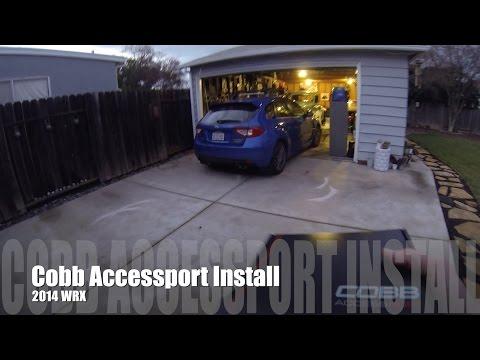 Cobb Accessport Install Subaru WRX