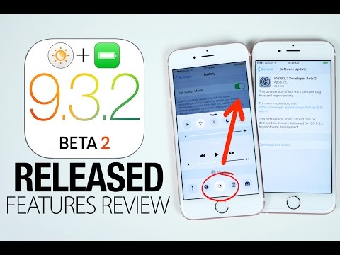 iOS 9.3.2 Beta 2 Released! New Features Review
