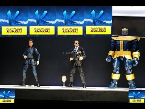 SDCC 2014 Marvel Legends Infinite Series Thanos, Coulson and Maria Hill My Thought's!!!!