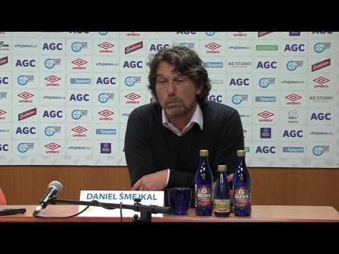 Tisková konference domácího trenéra po utkání se Zlínem (15.10.2016)