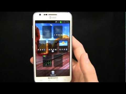 Samsung Galaxy S II Skyrocket Ice Cream Sandwich Walkthrough