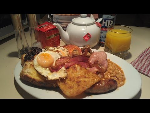 Full English Breakfeast with Chef Neil Colston