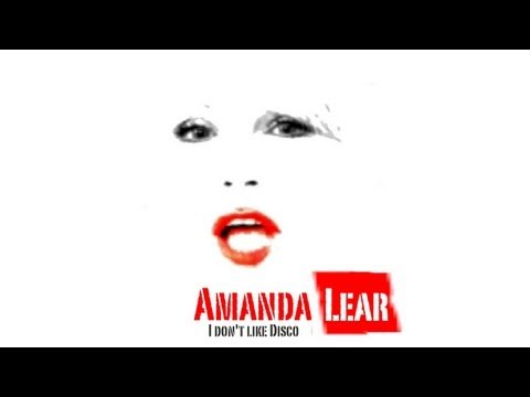 Amanda Lear | I Don't Like Disco (with Lyrics)  NEW ALBUM 17 MARCH 2014