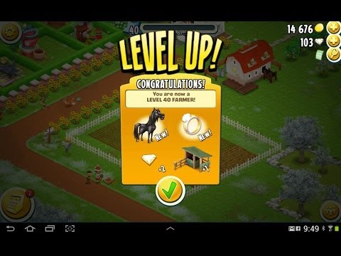 Hay Day Level 40