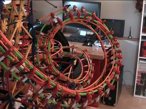Metropolis - a K'nex Ball Machine