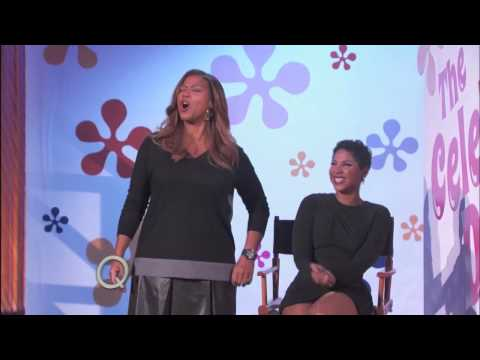 Find Out Who Toni Braxton Chooses| The Queen Latifah Show