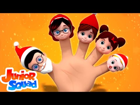 Santa Finger Family | Christmas Song | Xmas | Christmas Rhyme | Nursery Rhymes | Baby Song