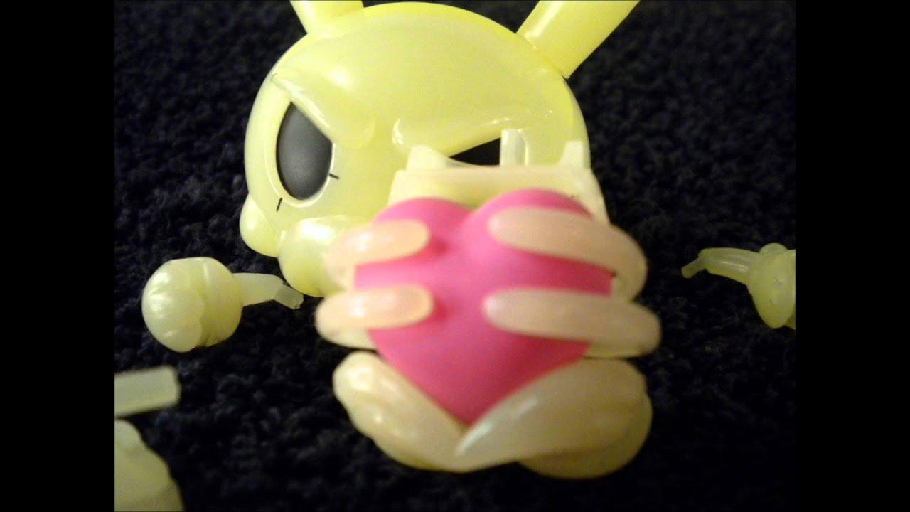 Kidrobot Dunny 2011 Kronk Bones Kronk Bones Skeleton Dunny