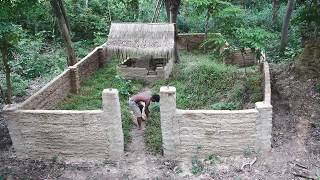 Primitive Technology, Cover grass in small village