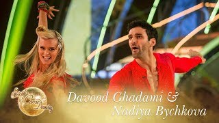 Davood and Nadiya Jive to 'Tell Her About It' - Strictly Come Dancing 2017