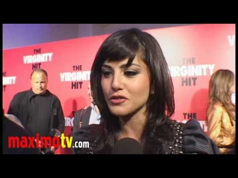 Sunny Leone Interview At the Virginity Hit Screening video