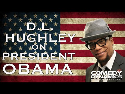 D.L. Hughley - President Obama (Stand Up Comedy)